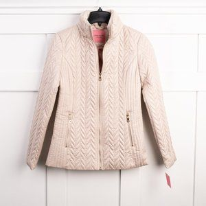 NEW Kate Spade NY quilted moto jacket